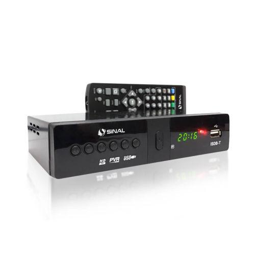 Conversor e Gravador Digital HDTV ISDB-T para TV terrestre aberta - Sinal Antenas SC-4000