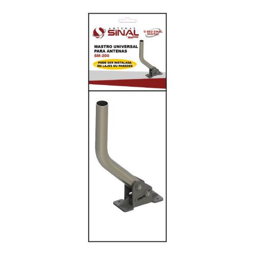 Embalagem Mastro Universal para fixação de antenas - Sinal Antenas SM-200