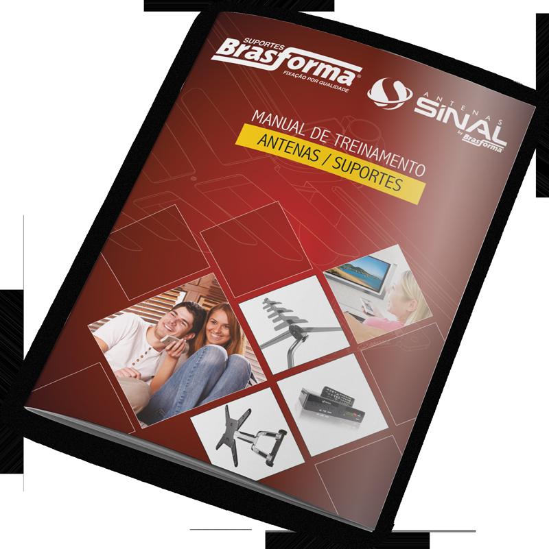 Capa Manual de instalação Brasforma Sinal Antenas